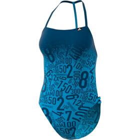 adidas Pro EBS Traje de Baño Mujer, shock cyan